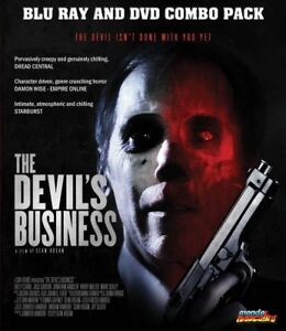 THE DEVIL'S BUSINESS - Blu-ray - Cult Horror Thriller - Uncut (DVD included)