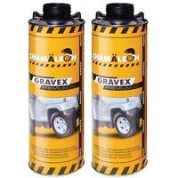 Gravex Premium UBS 2 x 1Kg Schwarz Unterbodenschutz Steinschlagschutz Bitumen
