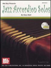 Jazz Accordion Solos Sheet Music Book/CD