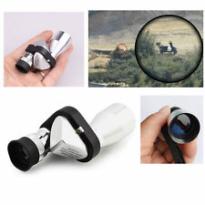 Mini 8x20 Metal Monocular Camping Hiking Pocket Telescope Spotting Scope New
