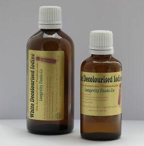 Liquid Potassium Iodide 60ml. Hair/ Nails, Multi-Mineral