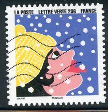 TIMBRE FRANCE  AUTOADHESIF OBLITERE N° 1197 / BONNE ANNEE / FETE DE FIN D'ANNEE