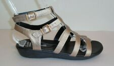 Clarks Size 9 M MANILLA PARHAM Gold Leather Gladiator Sandals New Womens Shoes