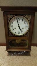 Hanging wall clock - Welby - Regulator - Vintage
