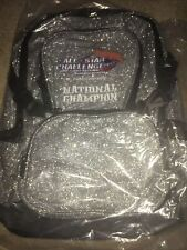 New listing New All Star Challenge Silver Sparkly National Champioship Backpack - Cheer