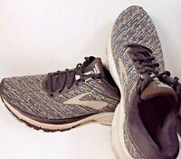 Brooks Mens Launch 5 Black/Ebony/Primer Grey Running Shoes Size 10.5