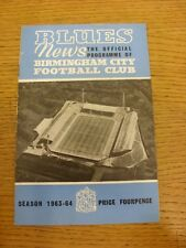 07/09/1963 Birmingham City v Manchester United  (folded). Thanks for viewing our