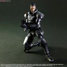 Square Enix Mass Effect 3 Play Arts Kai Commander Shepard Action Figure - New