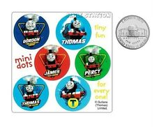 60 Thomas the Tank Engine Train Dot Stickers Party Goody Bag Favor Reward Supply