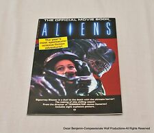 Aliens-The Official Movie Book Starlog Press  Extremely Rare!