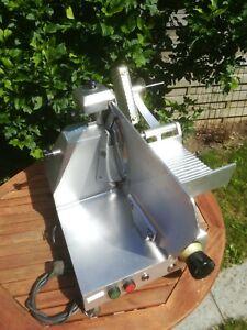 """28,5kg PROFI Aufschnittmaschine mit SCHLEIFAPPARAT GASTRO Allesschneider """"LESEN"""""""