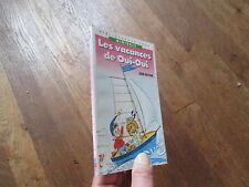 BIBLIOTHEQUE ROSE OUI OUI les vacances de enid blyton 1990 02