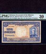 Bahamas, 5 Pounds 1936, P-12a * King George *
