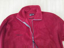Herren Sweat Jacke Fleece Jacke MAMMUT Gr 56 58 XXXL bordo Top