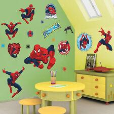 3D Spiderman Autocollant Mural Amovible Art Maison enfant chambre nouveau-né