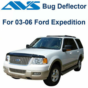 AVS Bugflector II Smoke Hood Protector Shield For 2003-06 Ford Expedition  25627