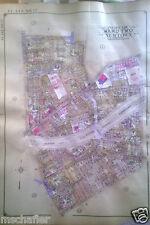 Orig 1927 E. Belcher Hyde Atlas Map MASPETH QUEENS NY 69TH - 74TH STREET