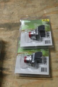 LOT OF 2 NEW Siemens Pushbutton52PA8B2JP