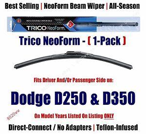 Super Premium NeoForm Wiper Blade (Qty 1) fits 1981-1993 Dodge D250/D350 16180