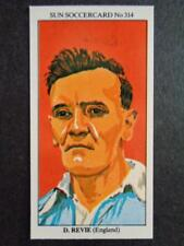 The Sun Soccercards 1978-79 - Don Revie - England #314