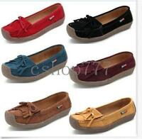 Comfy Womens Fringes Tassel Loafer Moccasin Driving Flats Casual Shoes Hot New
