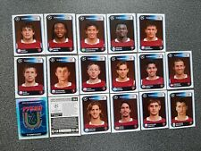 PANINI CHAMPIONS LEAGUE 2010/2011 FC RUBIN KAZAN COMPLETE SET 17 STICKERS