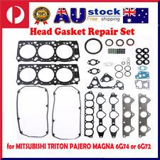 VRS Head Gasket Set Kit Fit for MITSUBISHI TRITON PAJERO MAGNA 3.5 24V 6G74 SOHC