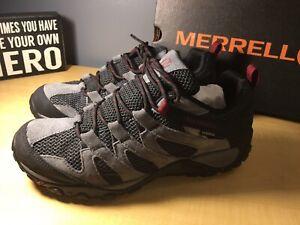 MERRELL  Alverstone WP Castlerock Hiking Waterproof Shoes J84279 Men's Size 9.5