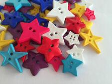 Bottoni a stella in plastica per l'hobby del cucito