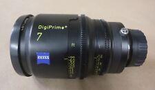"""CARL ZEISS DIGIPRIME 7 7mm T1.6 LENS - B4 MOUNT - FOR DIGITAL CINE 2/3"""" CAMERAS"""
