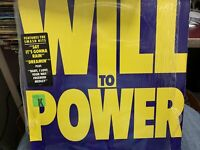 Will To Power SELF TITLED LP 1988 EPIC 40940 SHRINK