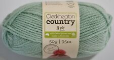 Cleckheaton Country #1962 Soft Green 50g 100 Pure Wool 8 Ply