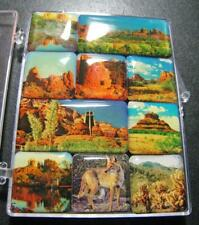 SEDONA ARIZONA MINI MAGNETS SET IN THE BOX USA 3D FRIDGE HARD MAGNET