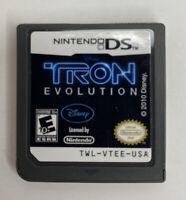 Disney Tron Evolution (Nintendo DS, 2010) Cartridge Tested & Works VG Free Ship!