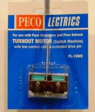 NIB HO/N Peco PL10WE Turnout Motor w/Low Current Coils