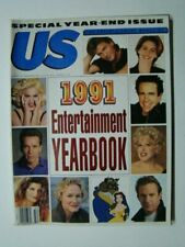 "1991 US Magazine Madonna Photograph Cover ""1991 Entertainment Yearbook"""