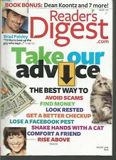 Reader's Digest August 2009 Brad Paisley/Pets/Lose a Facebook Friend