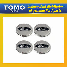 New Genuine FORD MONDEO MK3 2000-2007 Set Of 4 Alloy Wheel Centre Caps 1116573