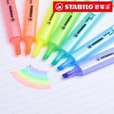 8pcs/set STABILO Swing Cool Highlighter Pen 275 Portable Marker 3mm Thick