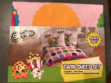 Shopkins Twin Set Sheets New 3 Piece