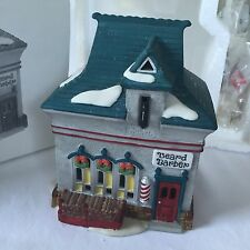 Department 56 Heritage Village Collection North Pole Beard Barber Shop 56340