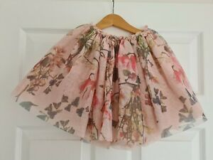 NEXT layered soft tutu floral pink party skirt, 6 years.