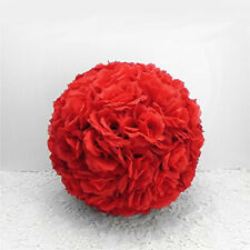 25CM Wedding Party Home Decoration Flower Kissing Ball Silk Rose Pomander