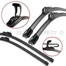 "Flat U-Hook wiper blade for VW Transporter T4 90-03 Front windscreen 21""A 21""A"