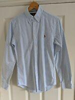 Men's Ralph Lauren Striped Slim Fit Button Down Shirt Size XS Excellent Cond