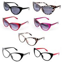 VTG 50s/60s Style Cats Eye Glasses/Sunglasses NEW BNWT Pick A Frame Colour