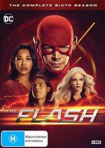The FLASH : Season 6 : NEW DVD