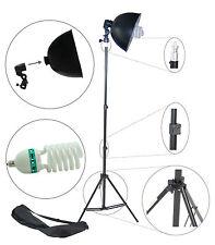 S27Kit 200W Illuminatore Studio Lampada DayLight Stativo Portalampada Riflettore