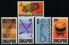 SINGAPORE 107-111 MINT NH MUSIC