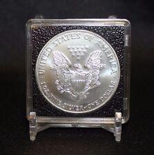 41mm Casino Chip Medallion Token 2x2 Coin Snap QUADRUM INTERCEPT + Display Stand